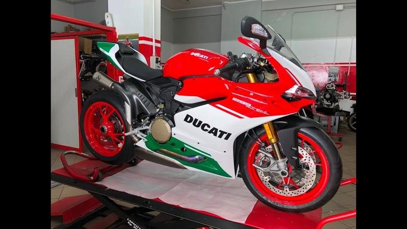 Ducati Panigale 1299 R Final Edition sound Akrapovic