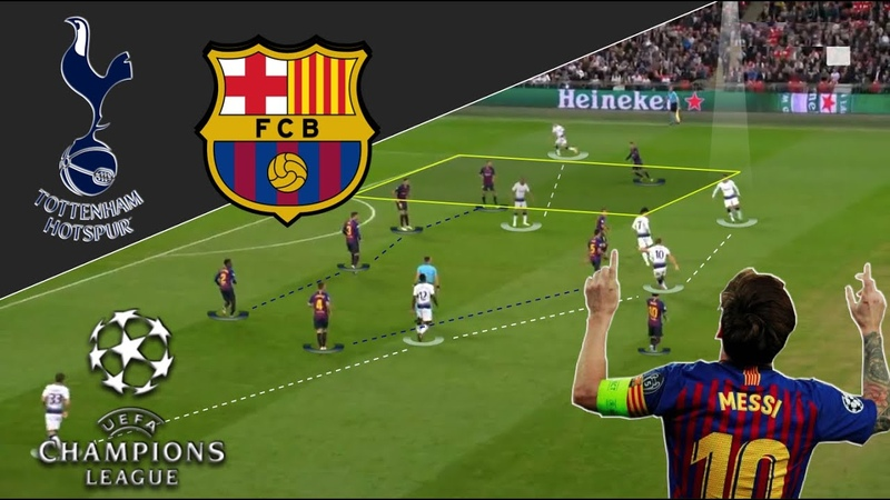 Messi Was Unplayable Tottenham Barca Tactical Analysis
