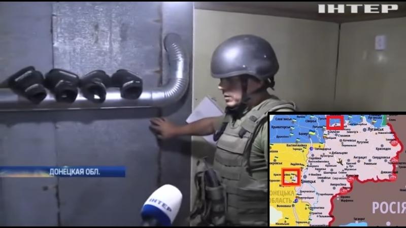 Фронт-Донбасс Крымское и Красногоровка [09.09.2018]