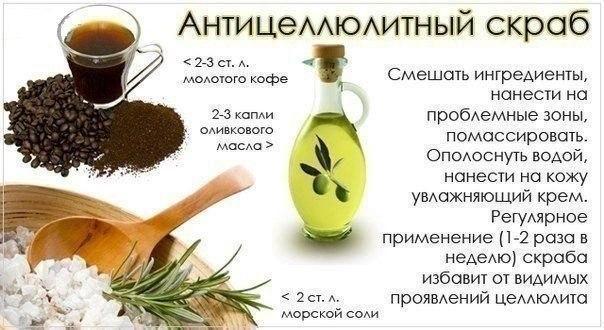 Рецепт антицеллюлитного масла в домашних условиях - Теплостолица