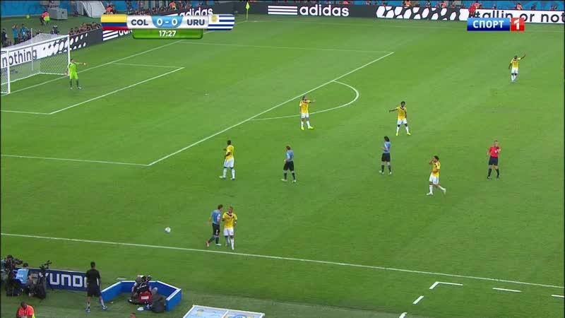 2014-06-28 RUS 720p HD Colombia vs. Uruguay First Half