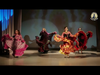 Кумушка, цыганский танец. Хореограф Анжелика Андреева. Гала-концерт фестиваля Ольги Нур.