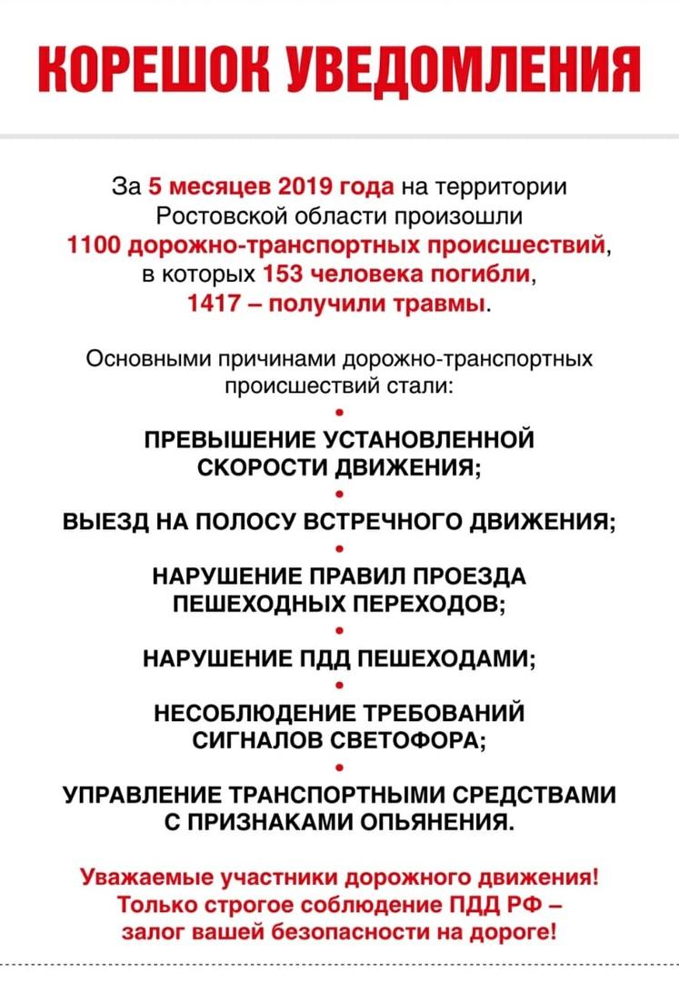 В Ростовской области проходит «Декадник безопасности дорожного движения»