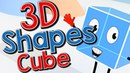 Cubie the Ice Cube | 3D Shape Song for Kids | Jack Hartmann