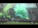 Fradi - Újpest 3:1, 2013 - 2. félidő koreója, újpesti öngól, egész stadionos ünneplés (teljes)
