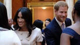 Harry &amp Meghan Join The Queen At Queen's Young Leaders Awards 2018 - Buckingham Palace
