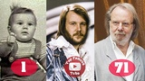 Benny Andersson ABBA Transformation From 1 To 71 Years Old