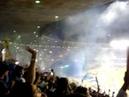 Final libertadores 2009 Festa da torcida do Cruzeiro entrada do time em campo