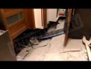 В Звенигороде в доме провалился пол