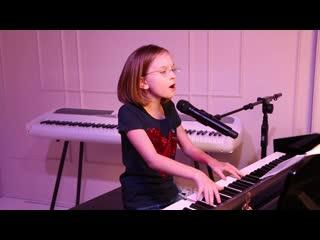 Сансара (баста) - piano cover виктория старикова - 10 лет
