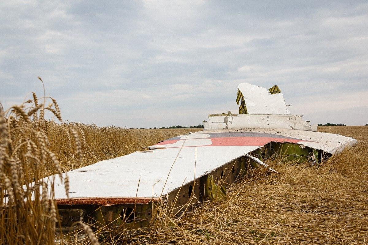 Падение Боинга Малазийских авиалиний в Донецкой области