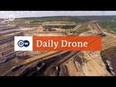 DailyDrone Hambach surface mine 2016 карьер по добыче бурого угля Tagebau Hambach Кельн Северный Рейн Вестфалия