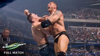 FULL MATCH - John Cena vs. Batista: SummerSlam 2008 (WWE Network Exclusive)