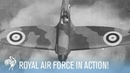 Royal Air Force Fighter Pilots Scrambling to Action | War Archives