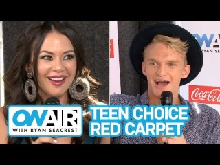 Teen Choice Awards w/ Janel Parrish   On Air with Ryan Seacrest