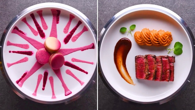 Plate like a pro with these quick and easy dinner party plating tricks Food Hacks by So Yummy