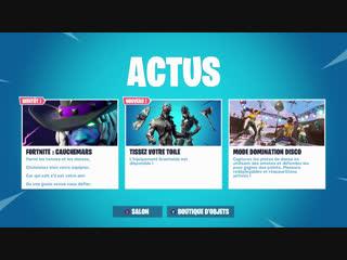 Fortnite Boutique 21 Octobre 2018 NOUVEAUX Skins + Jeux avec abonnés en LIVE