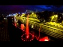 Поющий фонтан на плотинке Екатеринбург