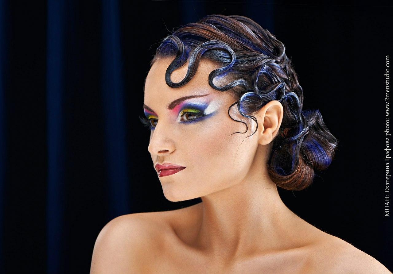 Фото макияж для спортивных бальных танцев 2