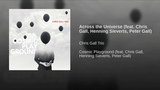 Across the Universe (feat. Chris Gall, Henning Sieverts, Peter Gall)