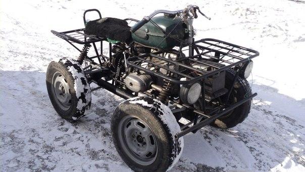 Купить самодельный трактор
