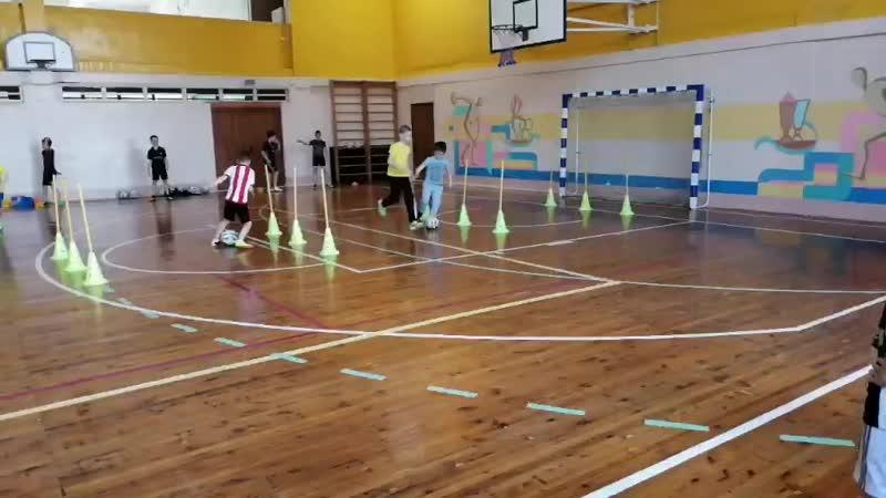 наши юные футболисты