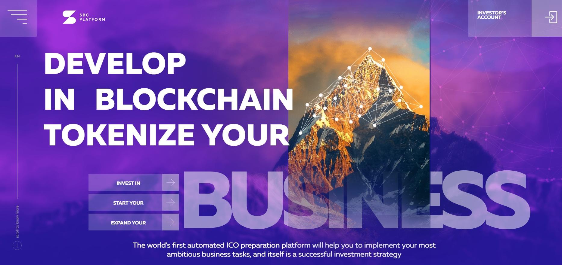Новый сайт компании SBC Platform