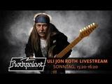 Uli Jon Roth LIVESTREAM Rockpalast 2018 Rock Hard Festival
