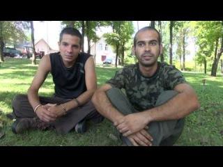 Brigadas Internacionales en Donbass.