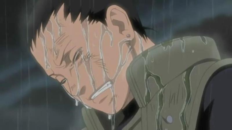 Смерть Асумы Сарутоби. Слезы команды номер 10.