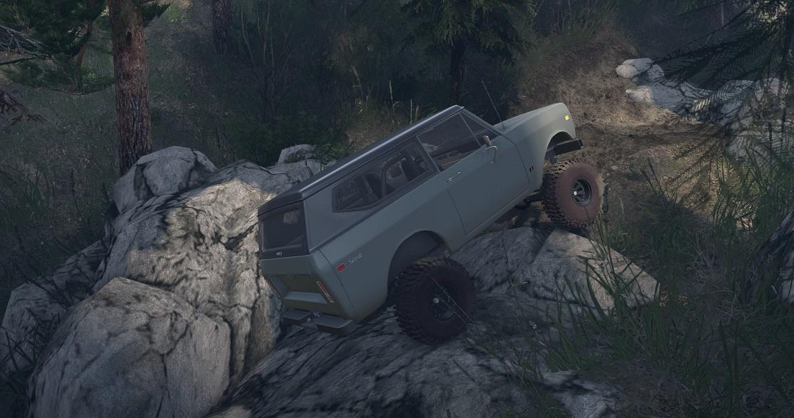 SID 1977 International Scout II 1.0 для Spintires - Скриншот 1