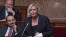 Marine Le Pen défend la suppression de l'AME réservée aux clandestins !