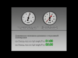 Ермак. 3ЭС5К. Проверка состояния тормозного оборудования.