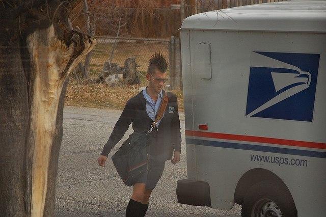 Панк почта!