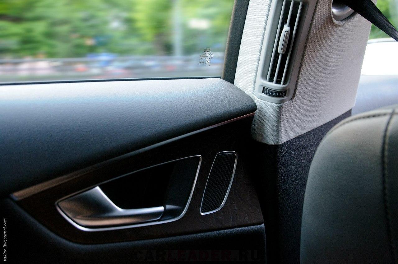 Audi A7 doors