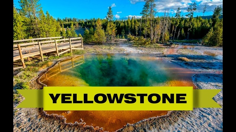 Yellowstone national park USA | Национальный парк Йеллоустоун США