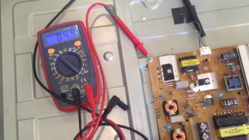 LG 42LB5660v диагностирую неисправность подсветки