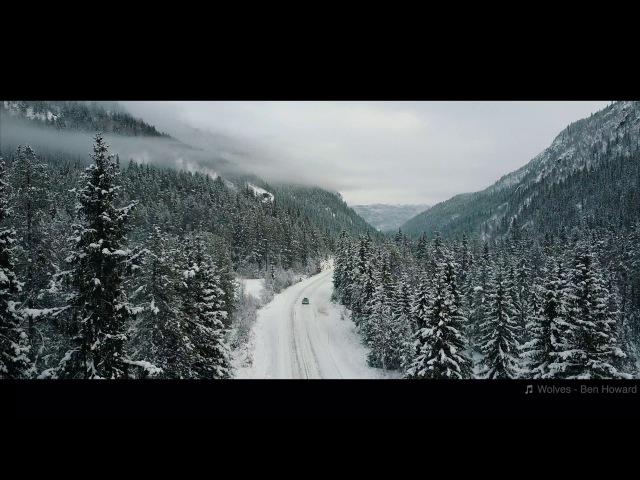 Winter road NORWAY | DJI Mavic pro [4K]