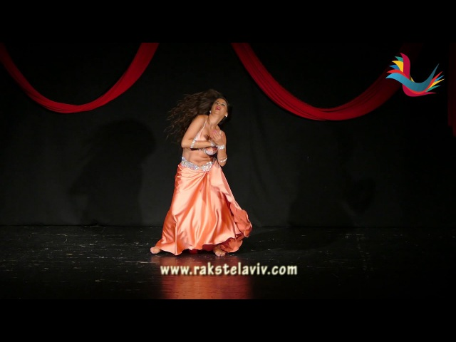 Alya Sayne Bellydance SIRET EL HOB in Raks Tel Aviv Festival Israel 2017.