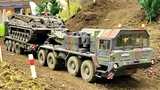 AWESOME RC SCALE ARMY MODEL TRUCK