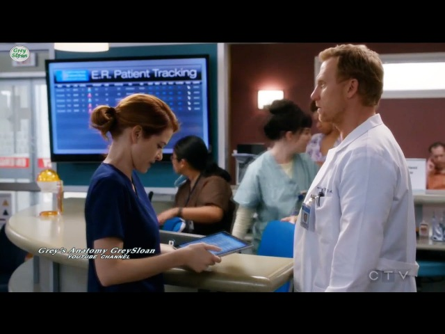 Grey's Anatomy 13x23 Owen in Hospital Still in Shock Saves Baby April in ER Season 13 Episode 23