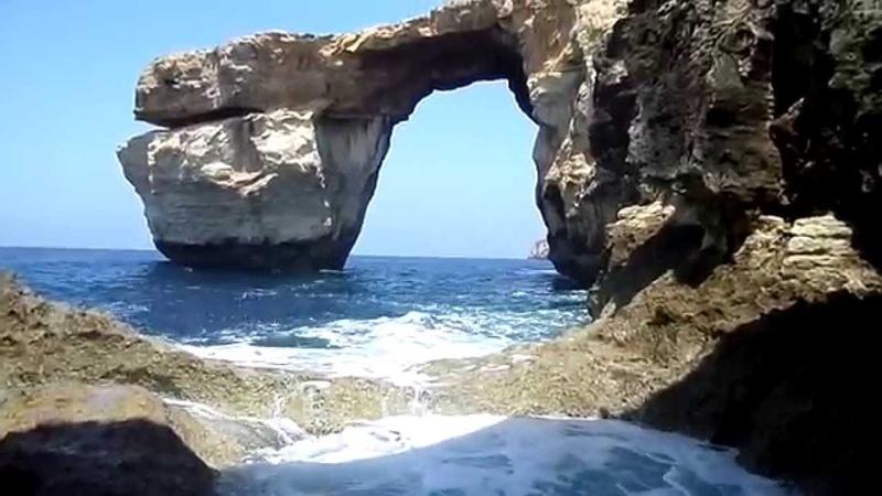 Лазурное окно на острове Гозо (Мальта)