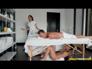 Honey gold - massage revenge fuck [all sex, hardcore, blowjob, sneaky sex]