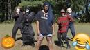 Starrkeisha VS Michael Myers Freddy Jason Ghostface 😂🔥🎃 DANCE OFF Random Structure TV