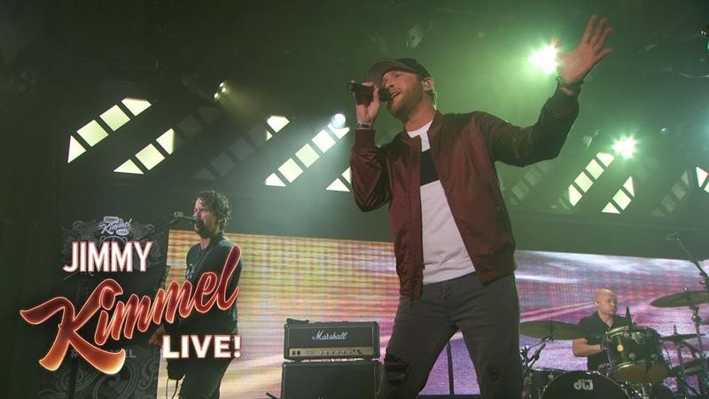 Cole Swindell - Love You Too Late (Jimmy Kimmel Live)