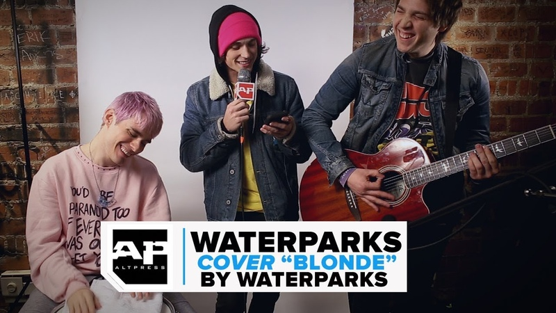 Waterparks Swap Instruments and Cover Blonde as OTTOPARKS
