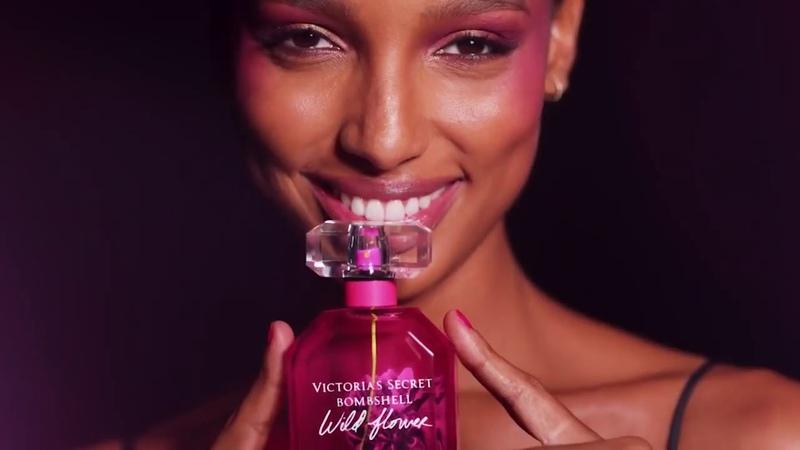 Jasmine Tookes for Victoria's Secret Bombshell Wild Flower Fragrance
