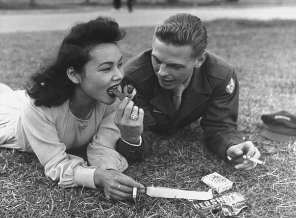 Фото, Япония, вторая половина 1940-х годов.