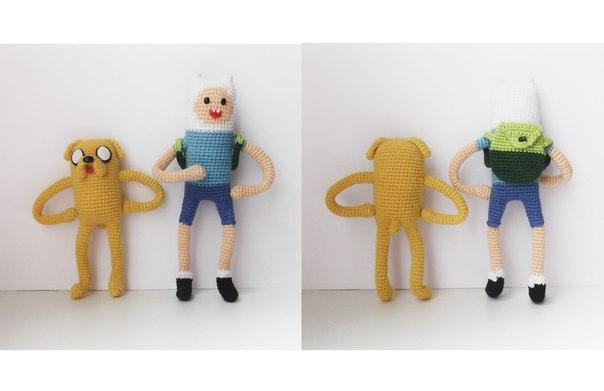 Купить набор игрушек Фин и Джейк Время Приключений