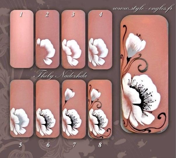 Дизайн ногтей на гель лаке мастер класс